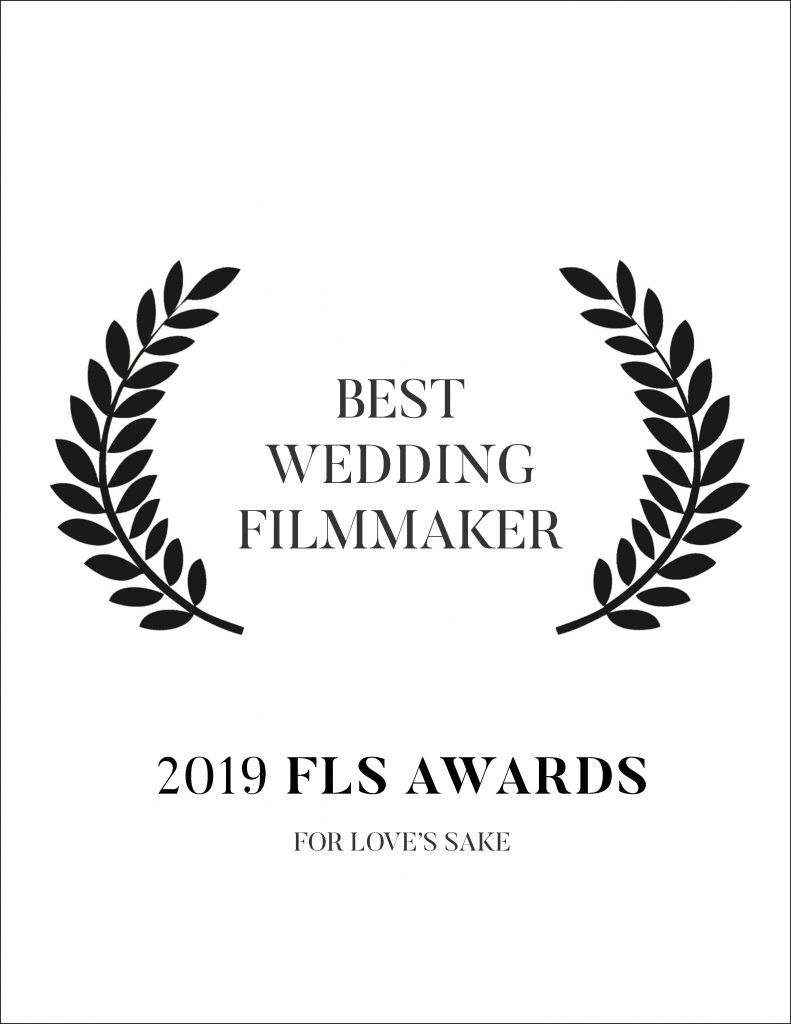 For Love's Sake is one of Europe's most recognized and attended events for International Wedding Filmmakers. In 2019 we were awarded the Best Wedding Filmmaker.