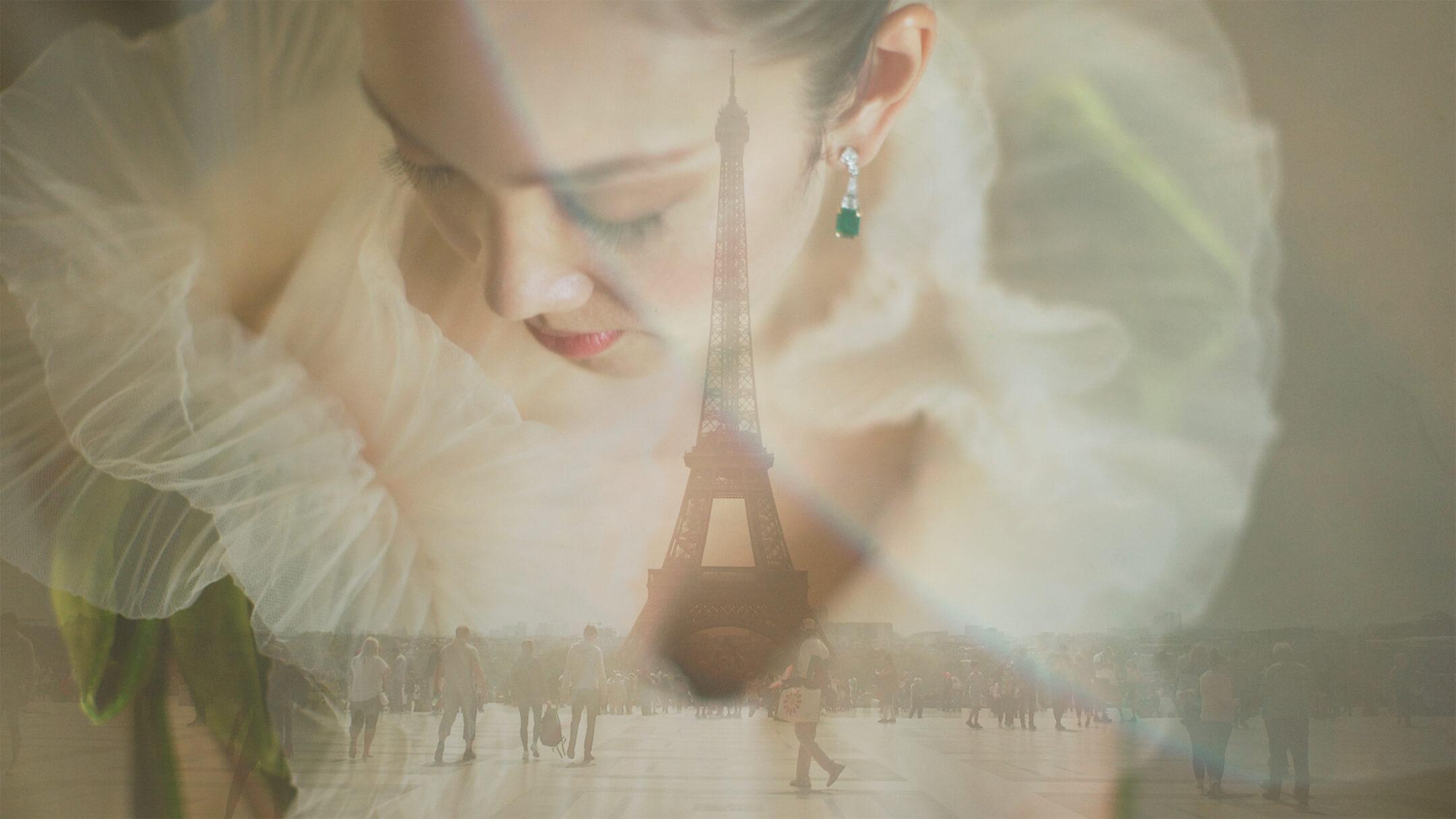 Portrait of Bride in Paris