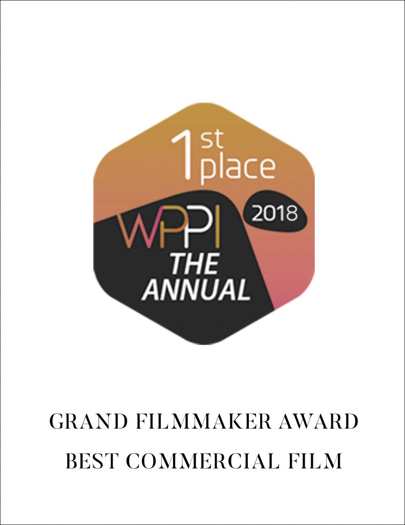 WPPI (Wedding + Portrait Photographers International) is the industry conference that brings together over 20,000 of the most talented creatives from all over the world. There are only 2 award categories for filmmakers at WPPI, and we won the 2018 overall Master Filmmaker Award, as well as the award for the Best Commercial Film for our 'Alan Watts | Dream Of Life' Film.