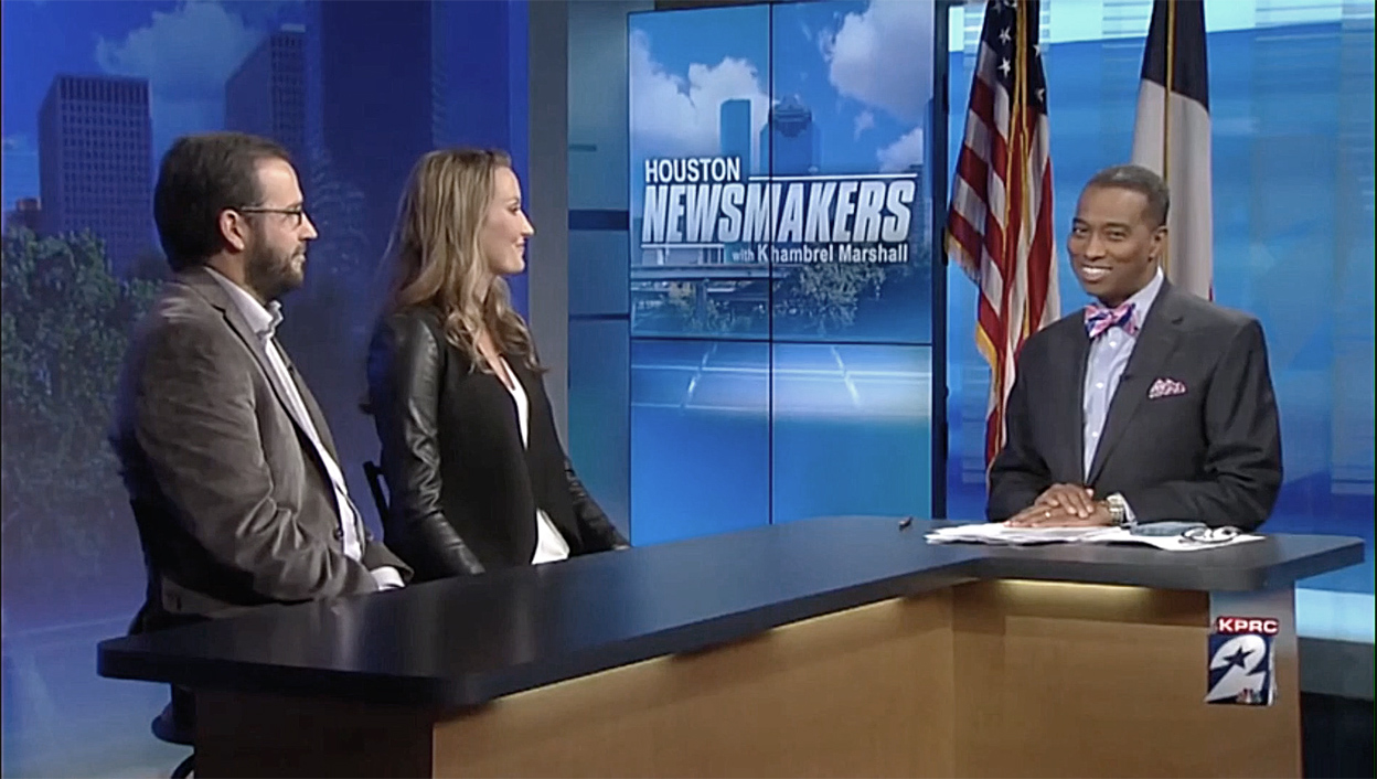 Houston Newsmakers with Khambrel Marshall TV Interview