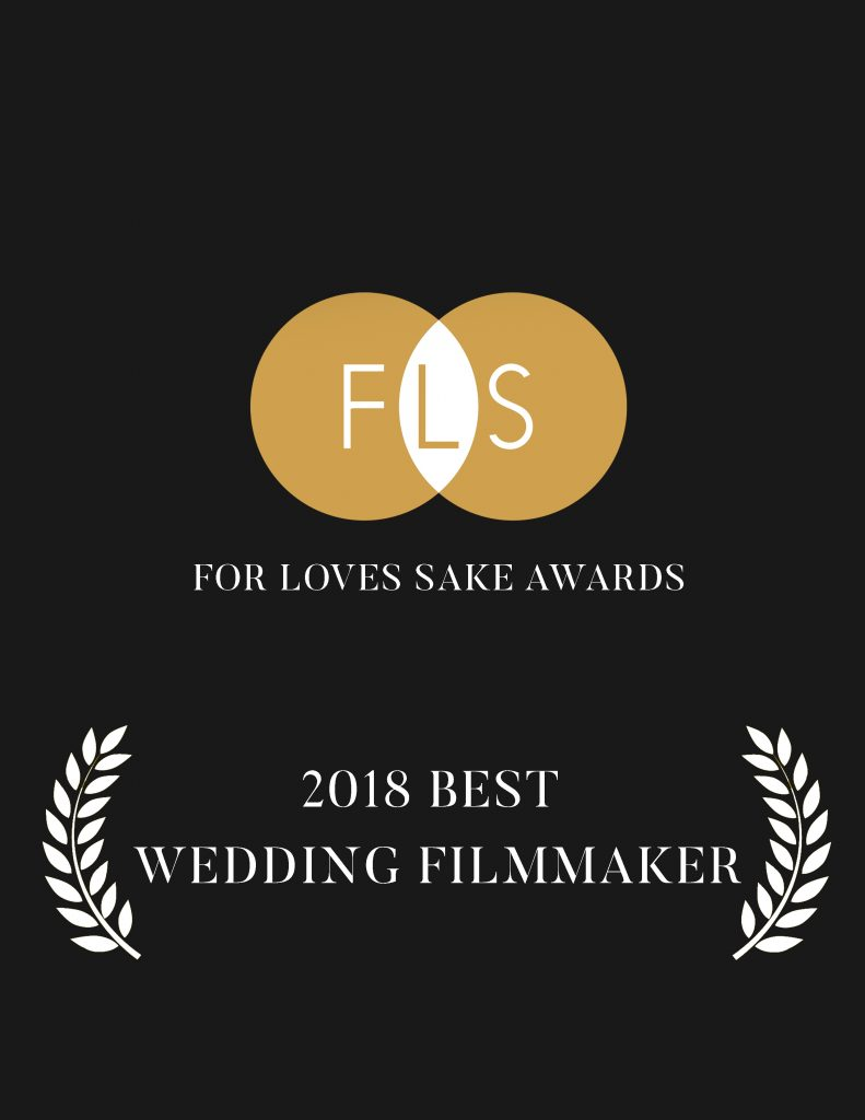 For Love's Sake is one of Europe's most recognized and attended events for International Wedding Filmmakers. In 2018 we were awarded the Wedding Filmmaker of the Year, as well as winning Best Cinematography, Best Short Film and Best Editor.