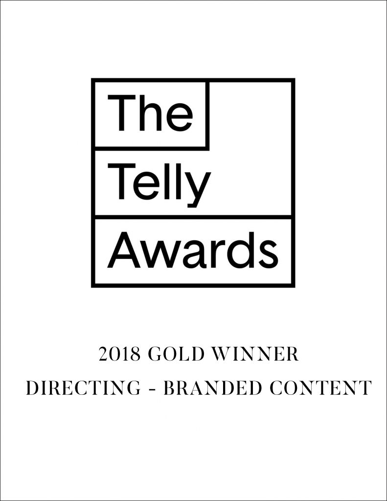 The Telly Awards annually showcases the best work created within television and across video, for all screens. Receiving over 12,000 entries from all 50 states and 5 continents, Telly Award winners represent work from some of the most respected advertising agencies, television stations, production companies and publishers from around the world. In 2018 we won a Gold Telly Award for the Directing of our film 'The Ring Cycle'.