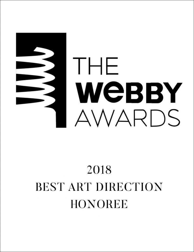 The Webby Awards is the Internet's most respected symbol of success. Our Singapore + Indonesia Wedding Film was one of 7 honorees in 2018 for Best Art Direction in Film/Video, with Nominees in the category including American Horror Story, Mind of a Chef and Musician St. Vincent. The 22nd Annual Webby Awards received more than 13,000 entries from nearly all 50 states and 70 countries worldwide.