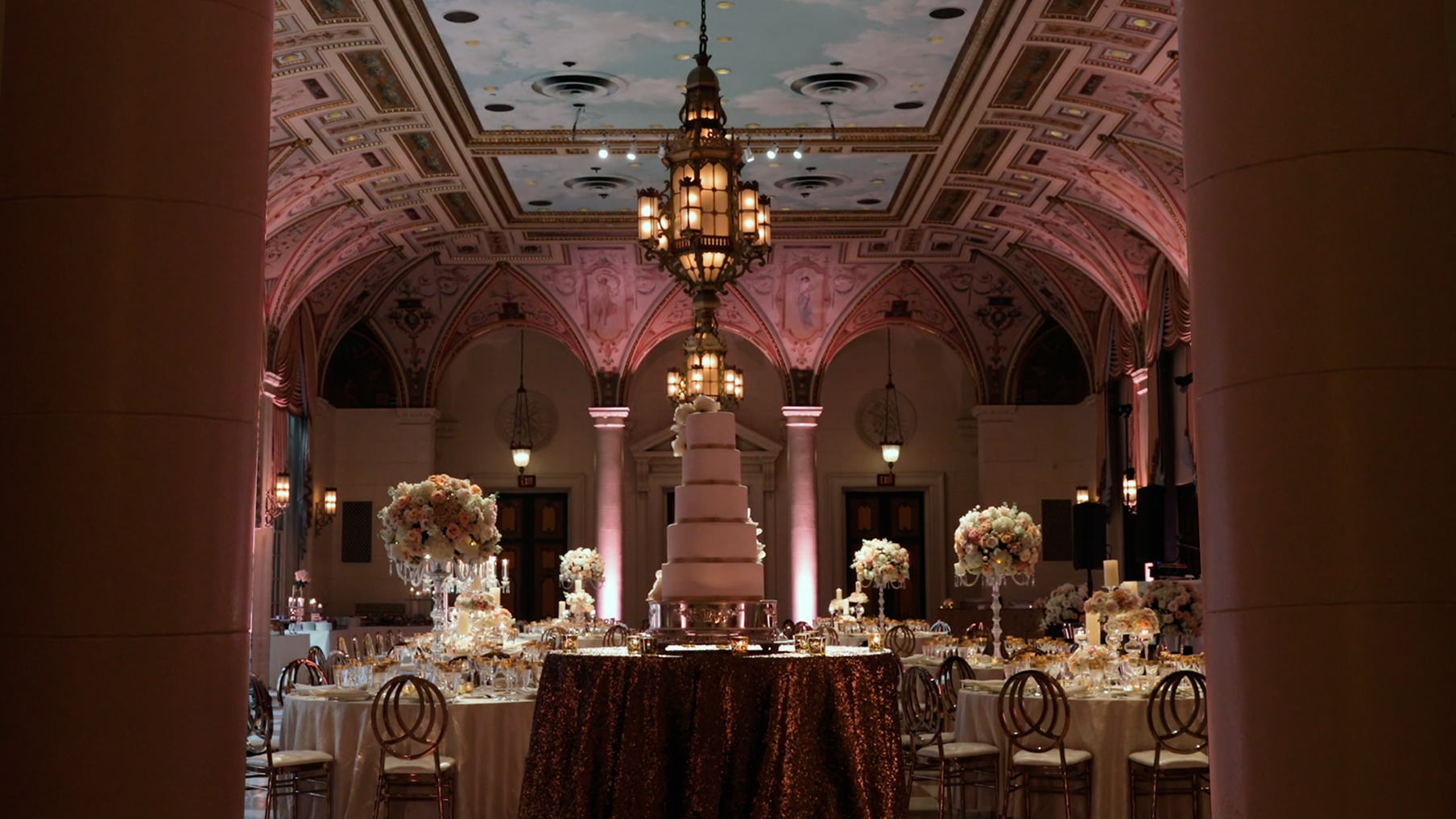 The Breakers Ballroom Wedding Reception