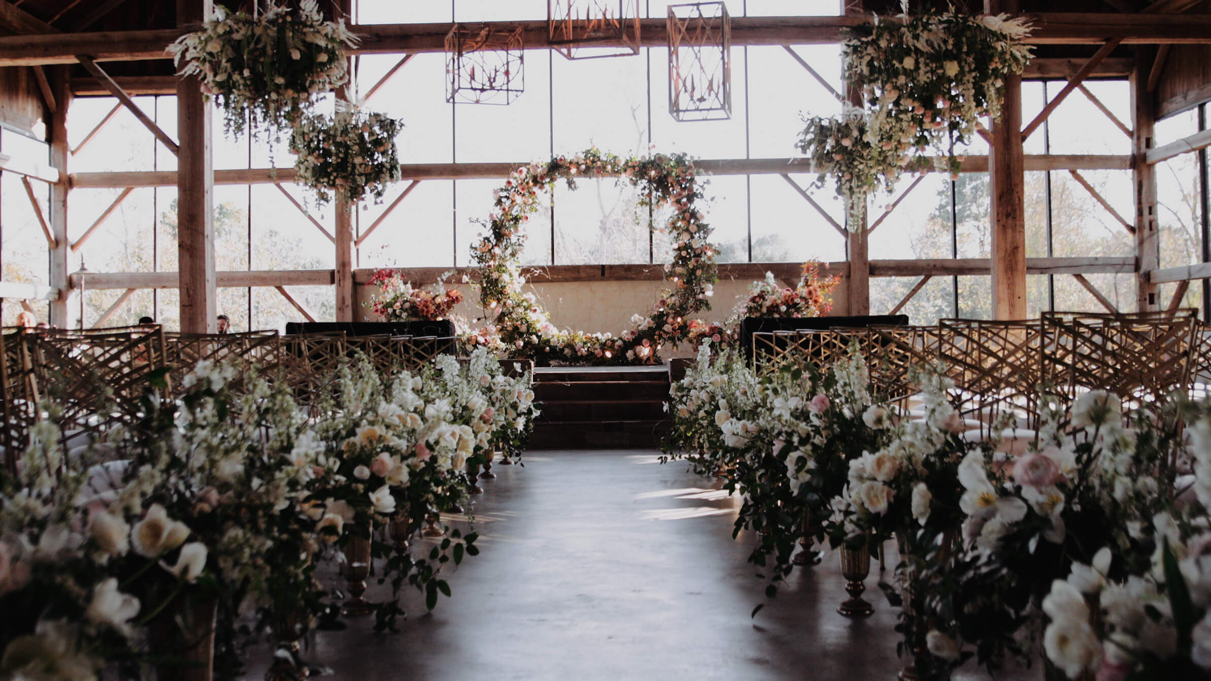 Rustic Chic Houston Texas Barn Wedding with Flowers