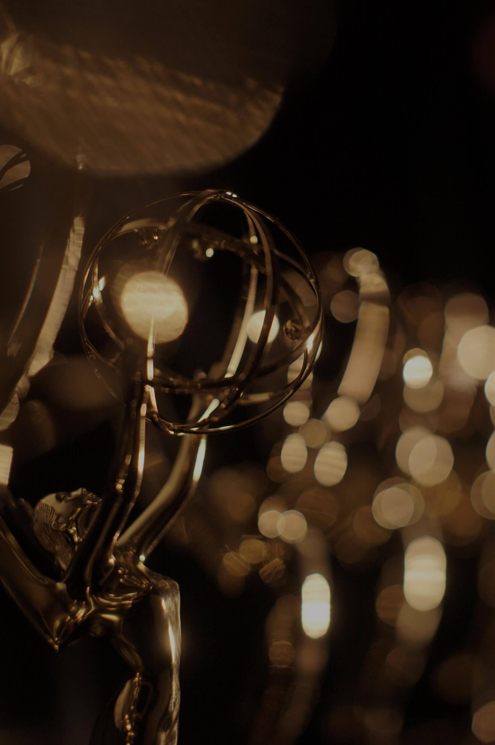 Vertical Emmy Award Statues